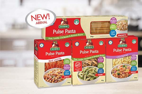 San Remo - New gluten free Pasta