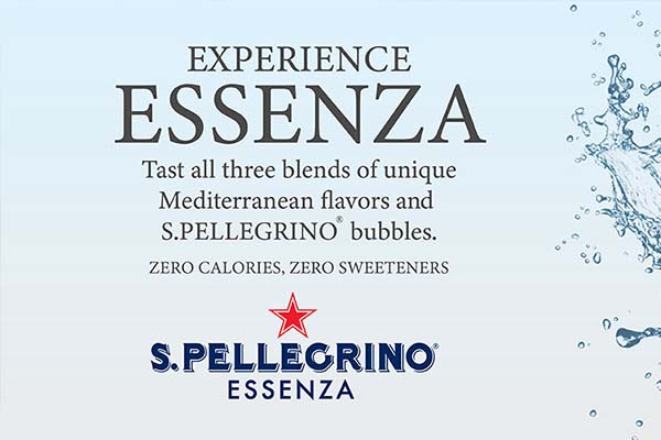 New refreshment - S.Pellegrino Essenza