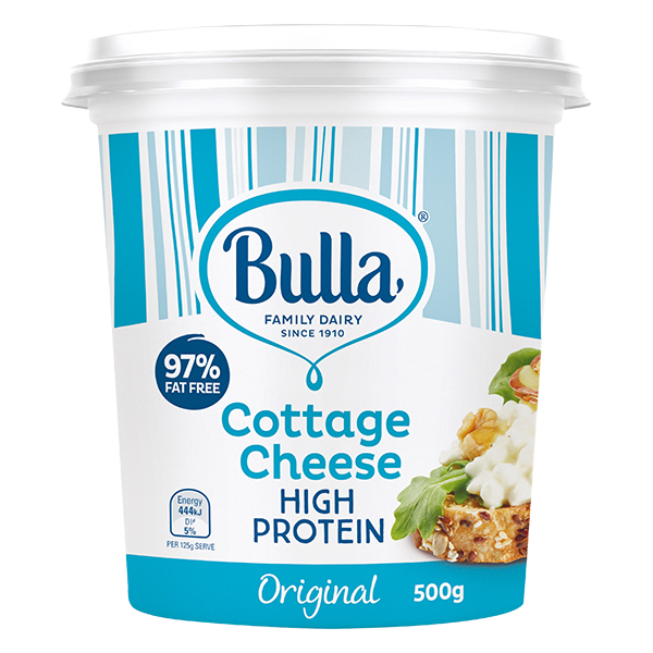 Bulla Plain Low Fat Cottage Cheese 500g X 6 Globalfoodproduct Com